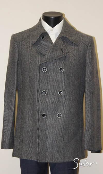 Удлиненное пальто для мужчин